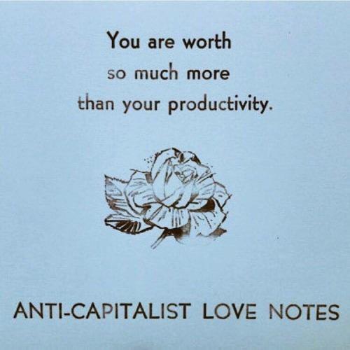 anticapitalist notes