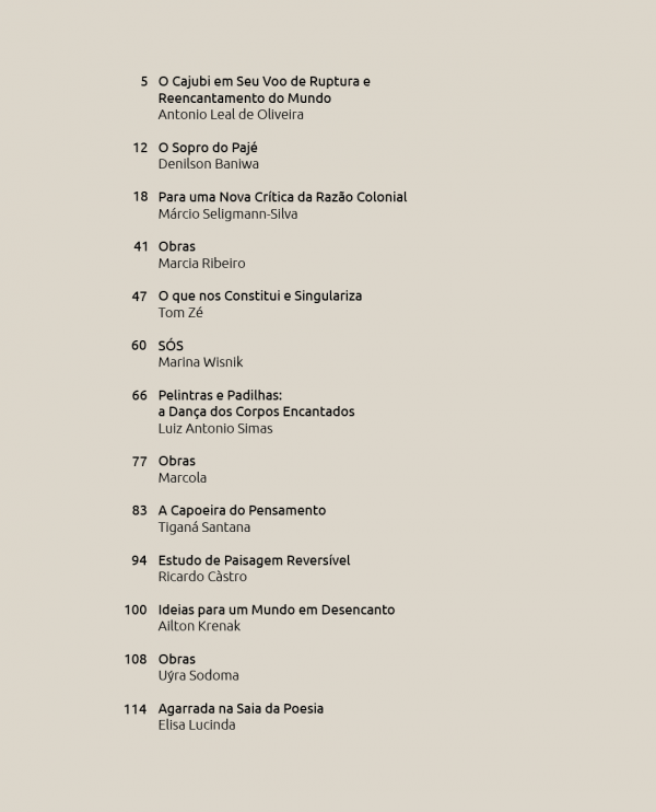 Cajubi Editora Incompleta Ruptura e Reencanto
